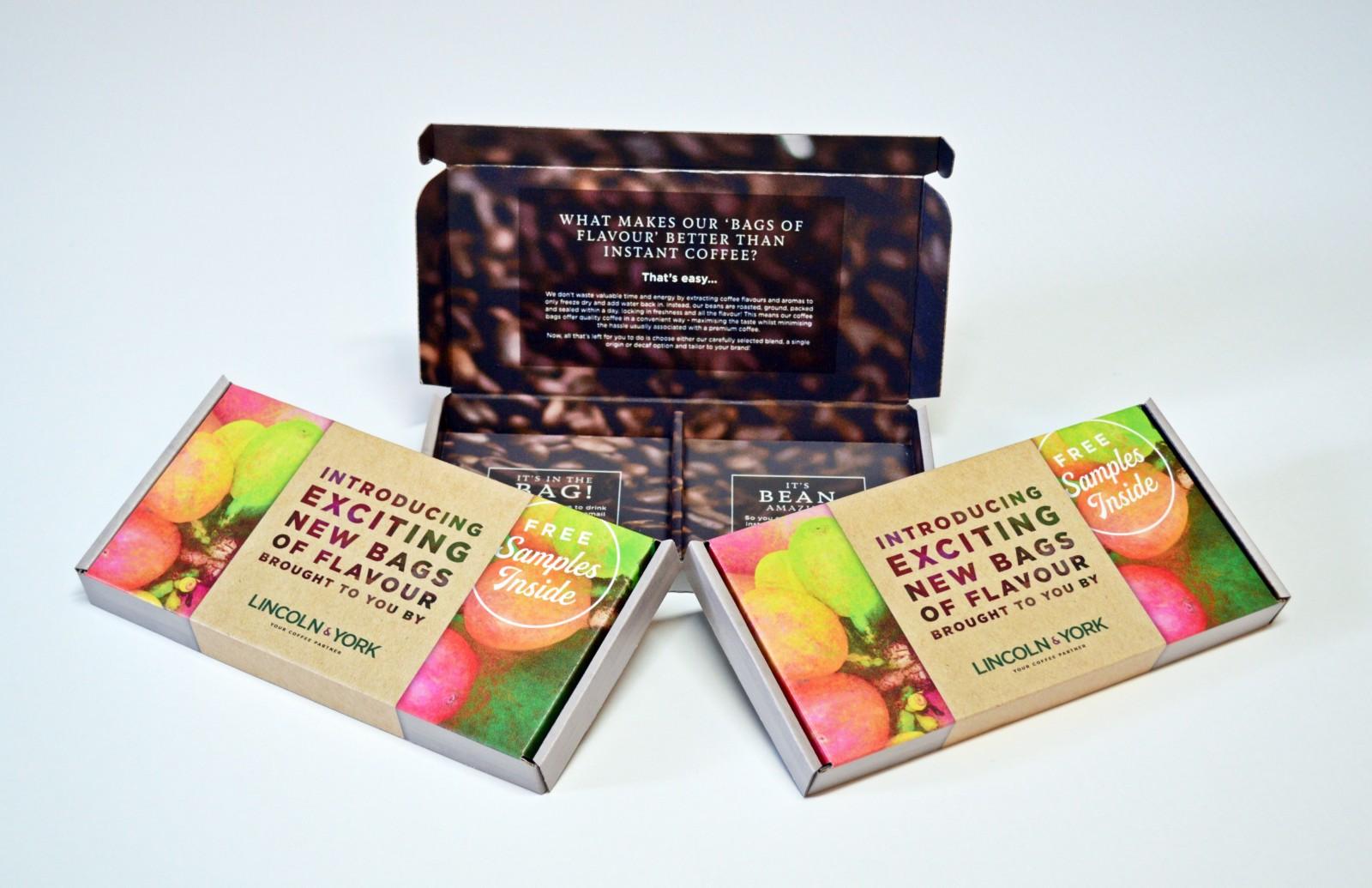 Sample Presentation Box for an Award-Winning Coffee Roaster - Garthwest